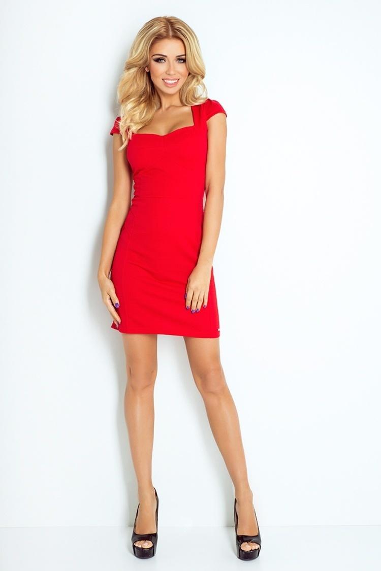 Sukienka Model 118-2 Red - Numoco