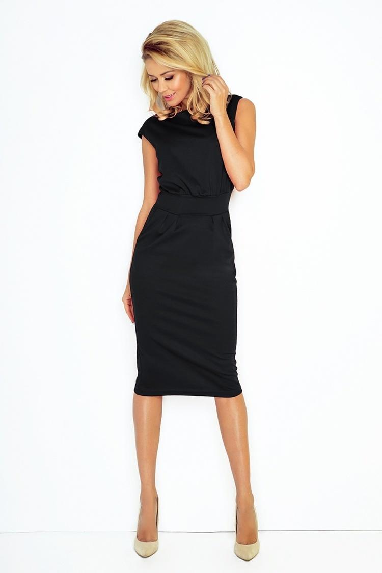 Sukienka Model Sara 144-3 Black - Numoco