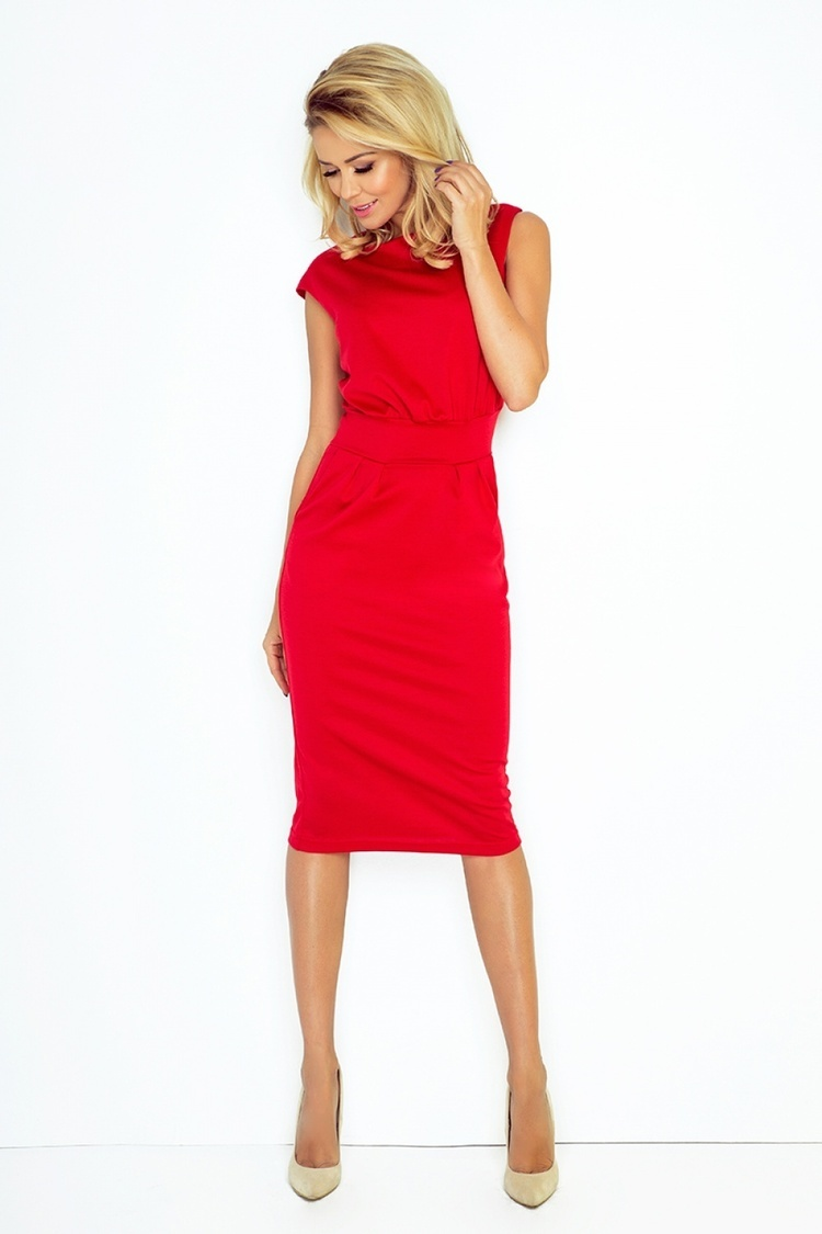 Sukienka Model Sara 144-2 Red - Numoco
