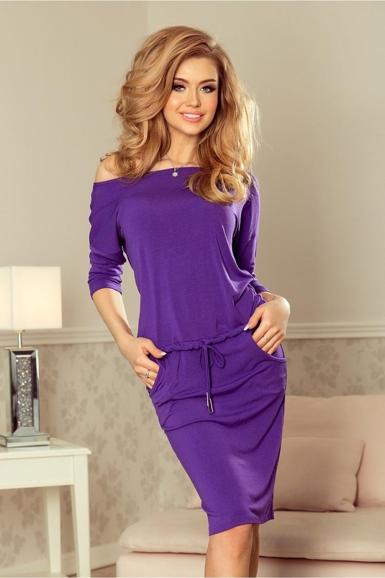 Sukienka Model 13-82 Violet - Numoco