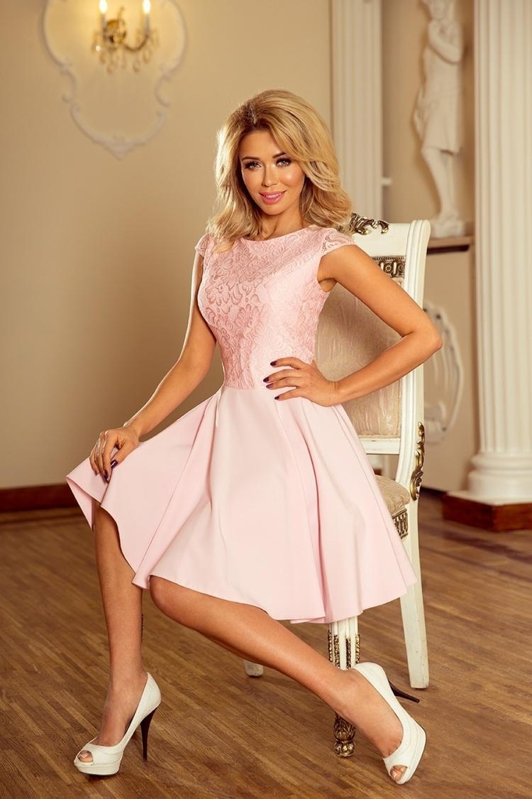 Sukienka Model Marta 157-4 Pastel Pink - Numoco
