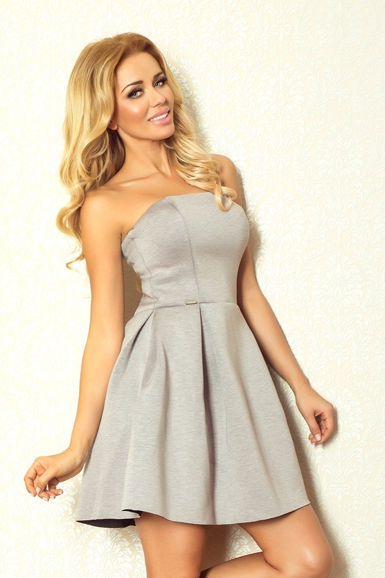 Sukienka Model 82-3 Grey - Numoco