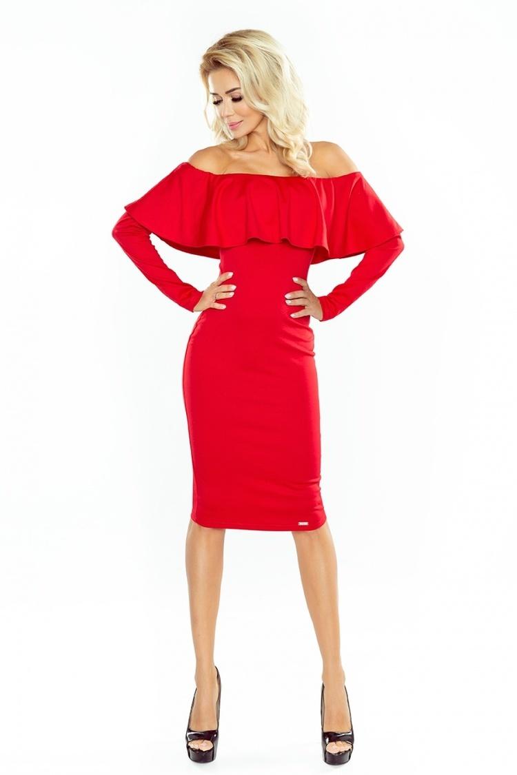 Sukienka Model 156-2 Red - Numoco