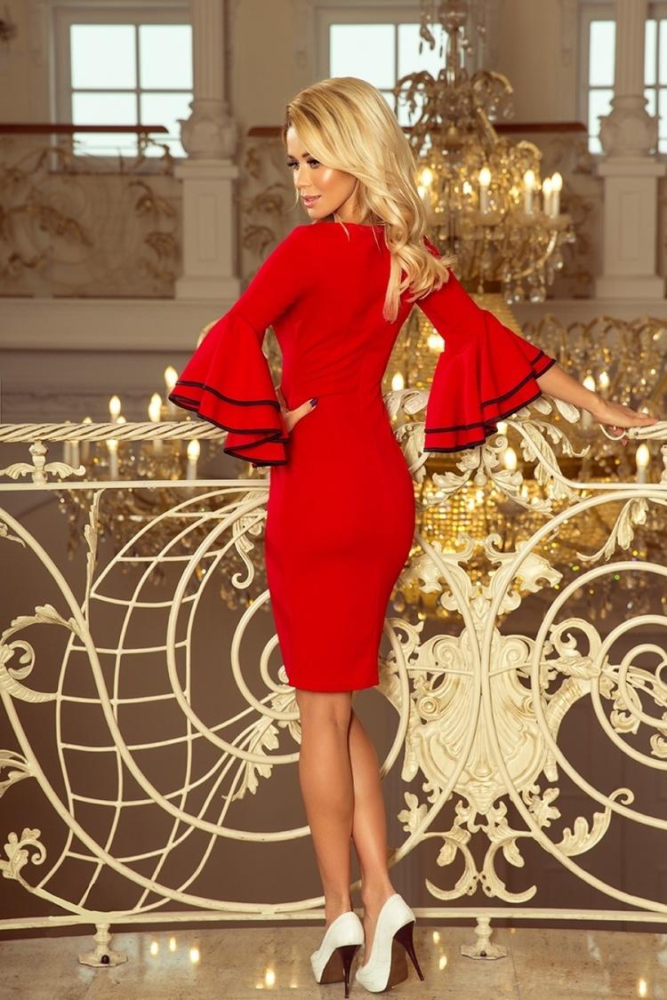 Sukienka Model Carmen 188-1 Red - Numoco