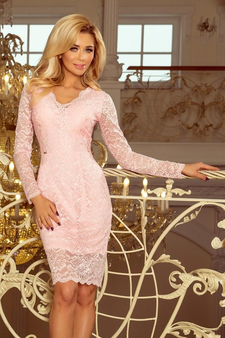 Sukienka Model 170-4 Pastel Pink - Numoco
