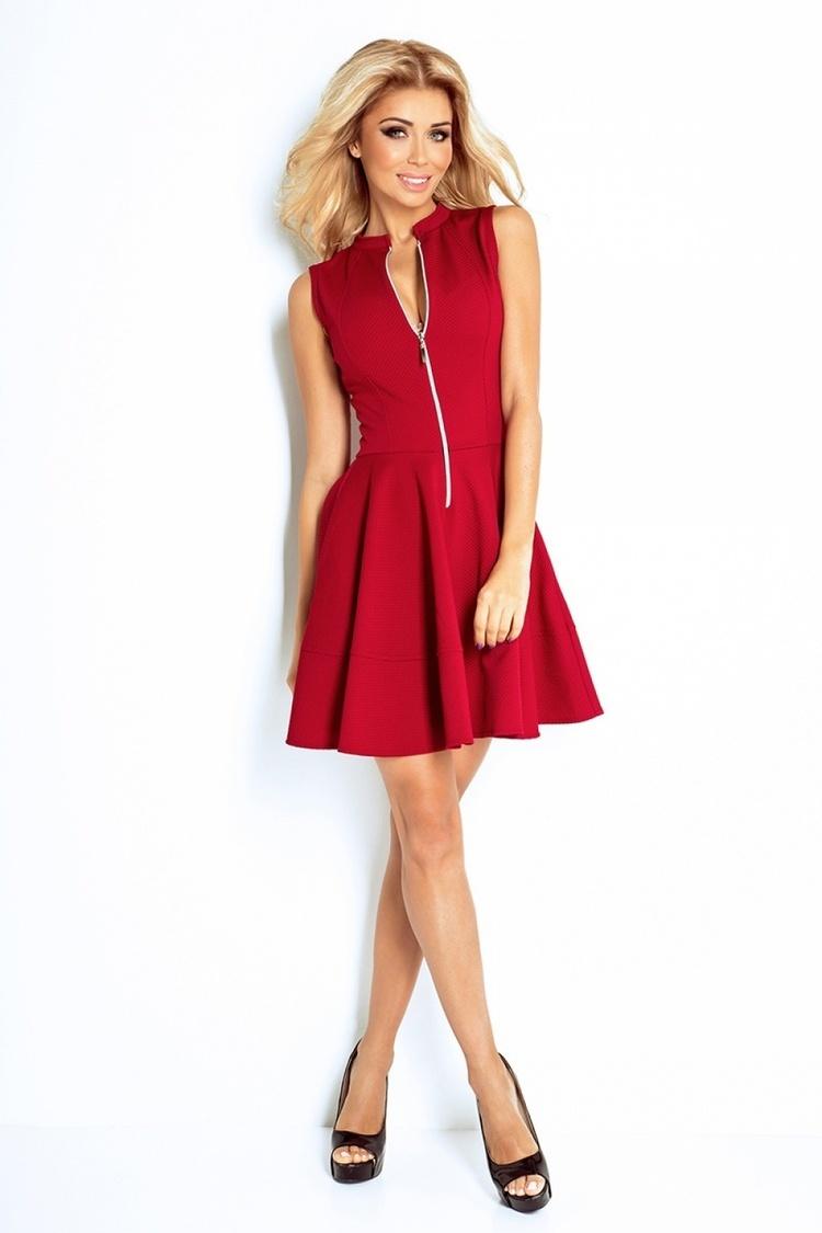 Sukienka Model 123-4 Bordo - Numoco