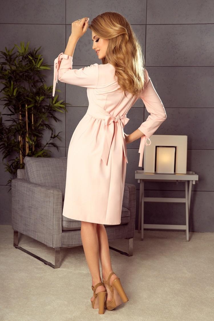 Sukienka Model Alice 195-2 Pastel Pink - Numoco