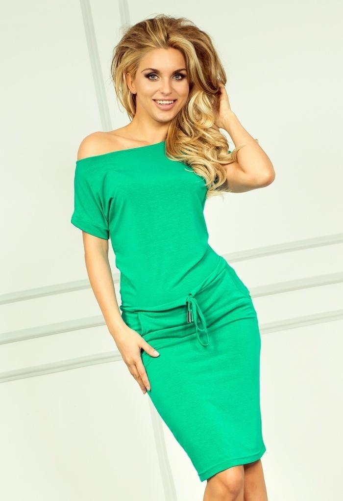 Sukienka Model 56-2 Neon Green - Numoco