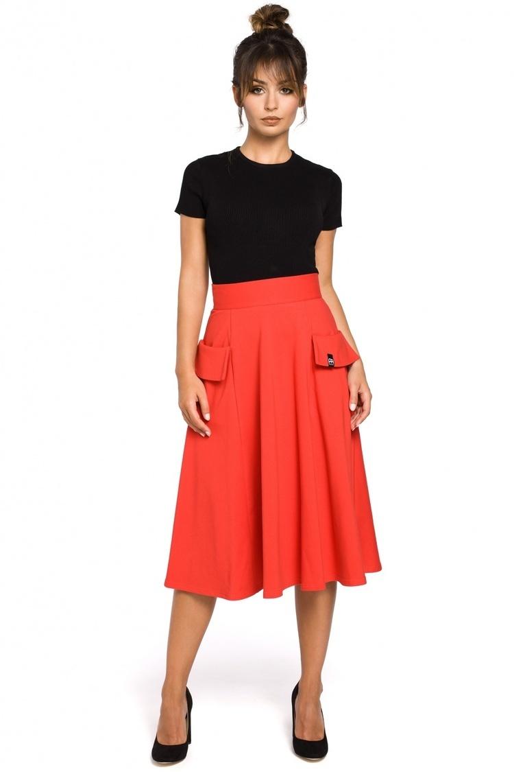 Spódnica Model B046 Red - BE