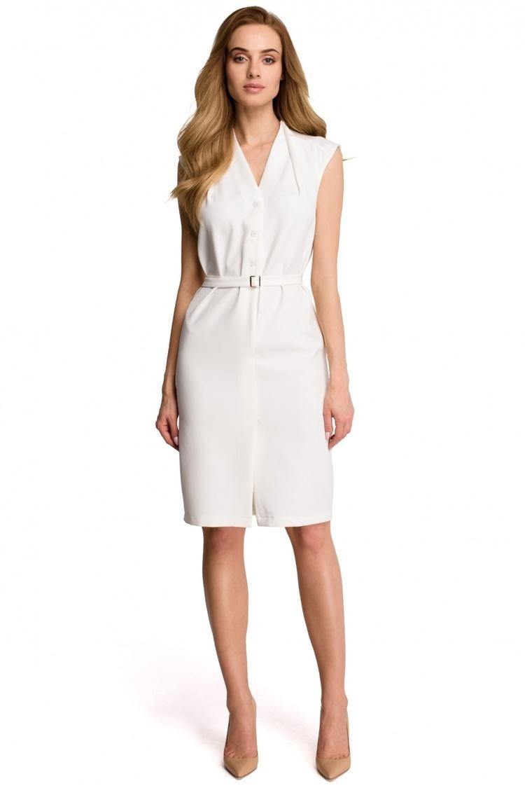 Sukienka Model S102 Ecru - Style