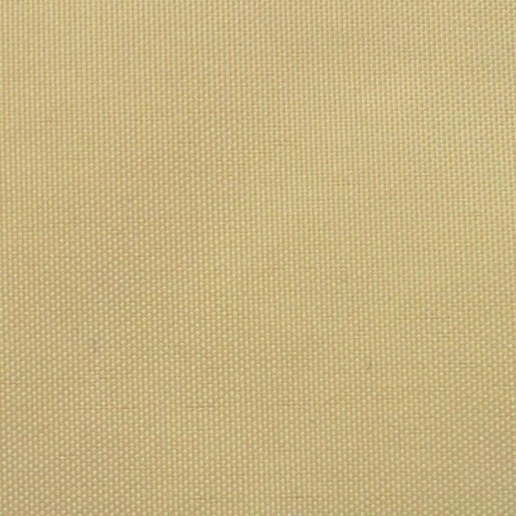 Trójkątny żagiel ogrodowy z tkaniny oxford, 5x5x5 m, beżowy