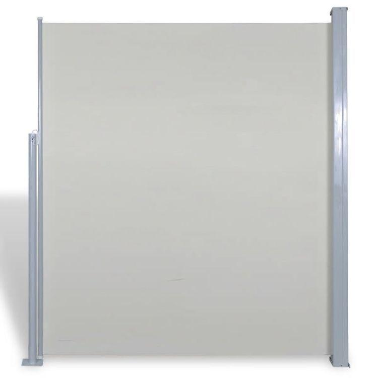 Markiza boczna na taras, 180 x 300 cm, kremowa