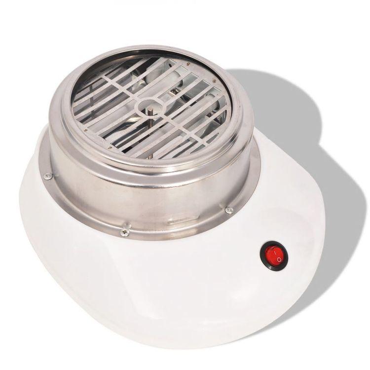 Urządzenie do robienia waty cukrowej 480 W, białe