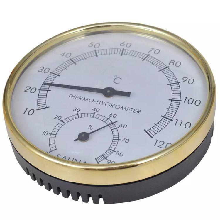 Akcesoria do sauny: Wiadro Chochla Klepsydra Higro/Termometr