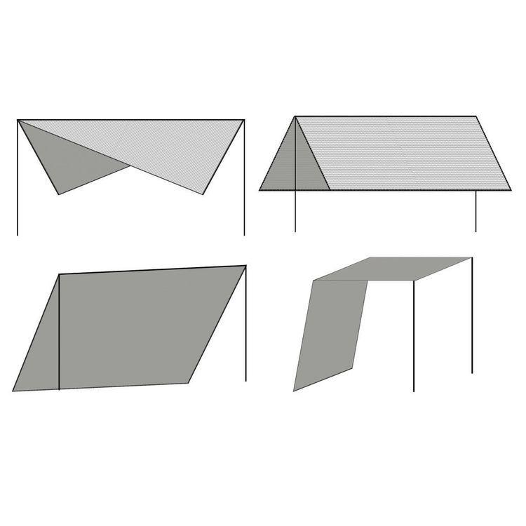 Żagiel przeciwsłoneczny ze słupkami, HDPE, 3 x 3 m, antracytowy