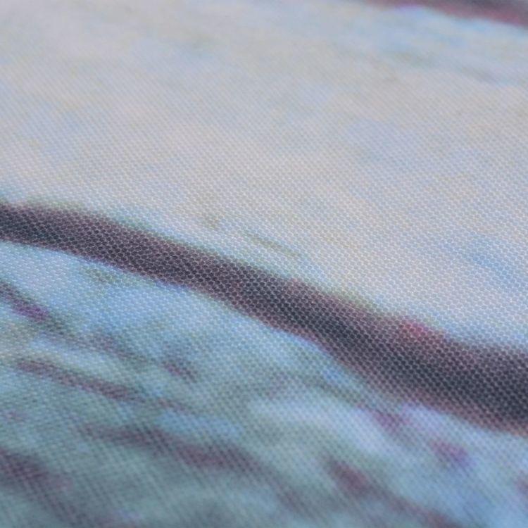 Parawan balkonowy z tkaniny oxford, 90x400 cm, motyw muru