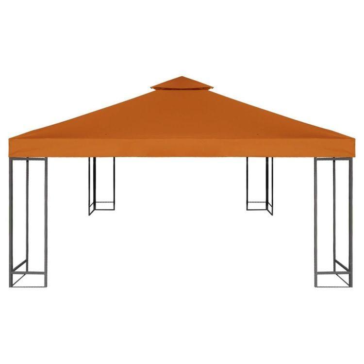 Zadaszenie altany ogrodowej, 310 g/m², terakota, 3x3 m