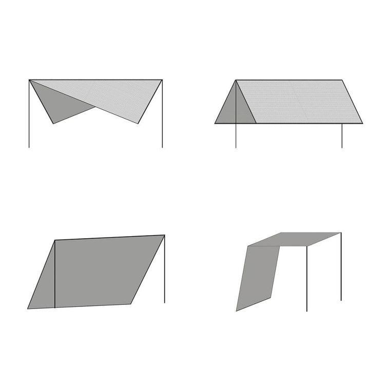 Żagiel przeciwsłoneczny ze słupkami, HDPE, 3 x 3 m, beżowy