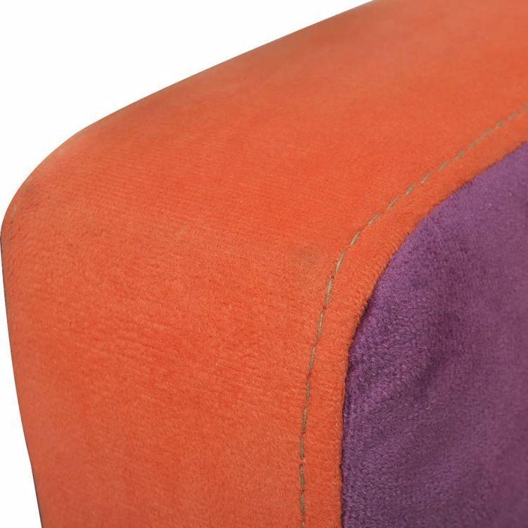 Fotel klubowy, patchworkowy