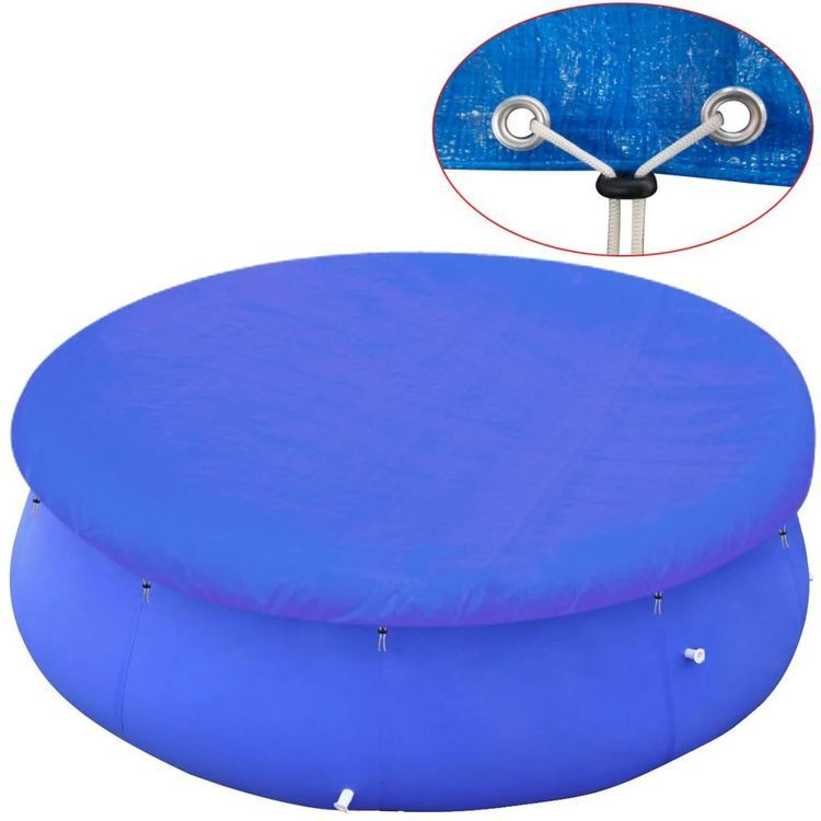 Okrągła plandeka na basen 450-457 cm, PE 90 g/m²