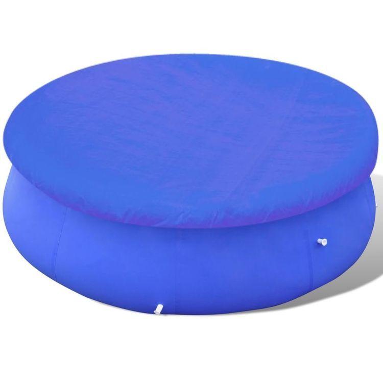 Okrągła plandeka na basen 300-367 cm, PE, 90 g/m²