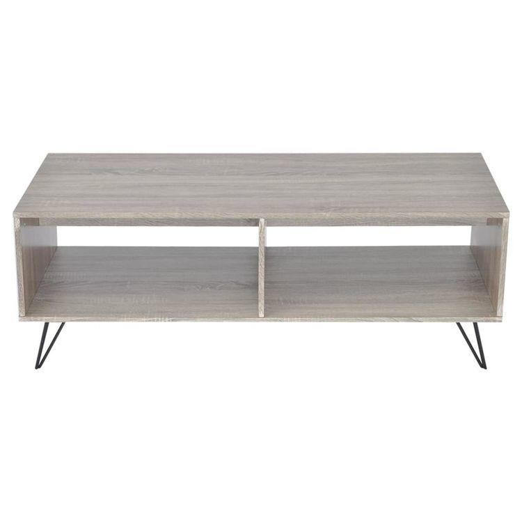 Szafka pod TV stolik kawowy 110x50x40 cm szary