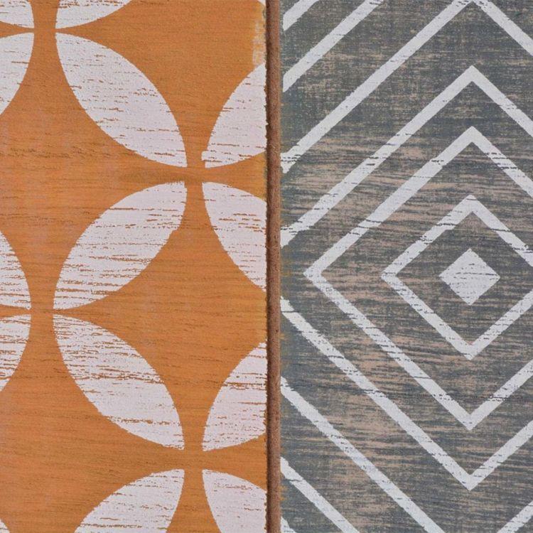 Stolik-konsola, brązowa, 90x30x71,5 cm