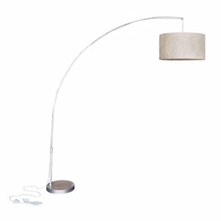 Regulowana lampa 192 cm kremowa