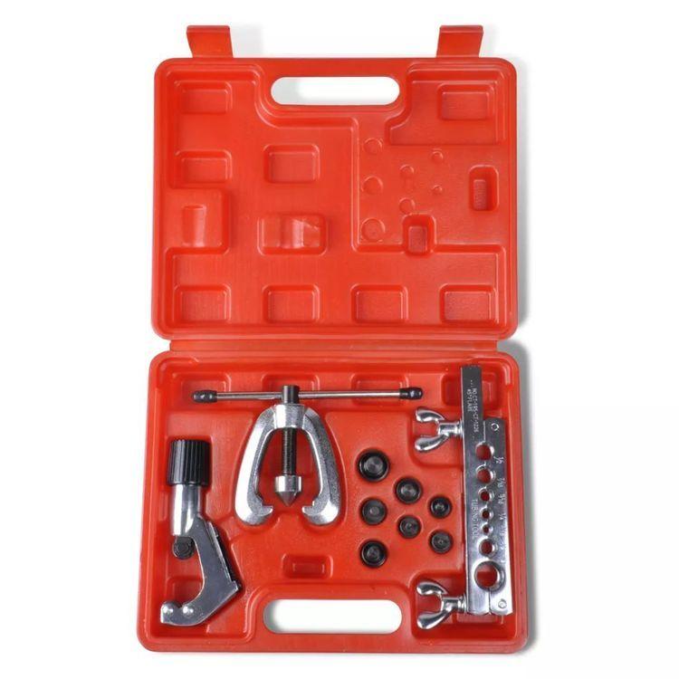 Zestaw narzędzi do gięcia i naprawy rurek giętkich