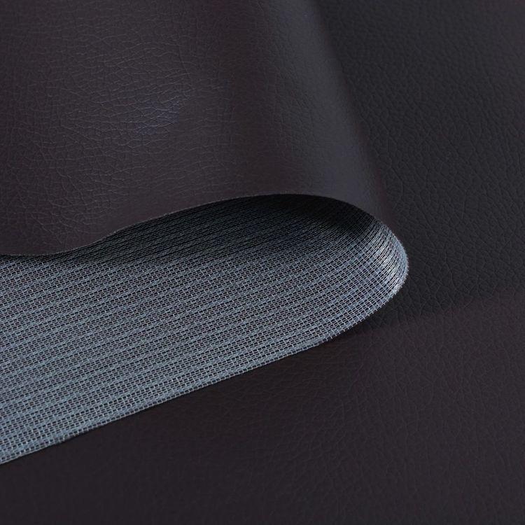Materiał ze sztucznej skóry brąz 1,4x36m