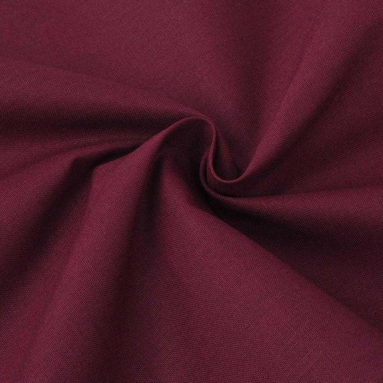 Tkanina bawełniana 1,45 x 20 m, burgund