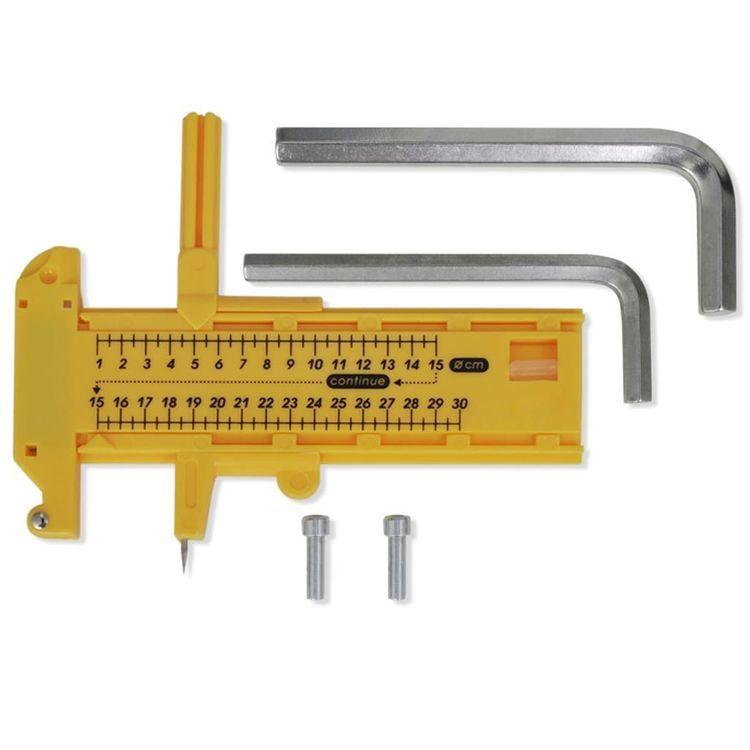 Maszynka do przypinek z formą 44 mm i wykrawakiem