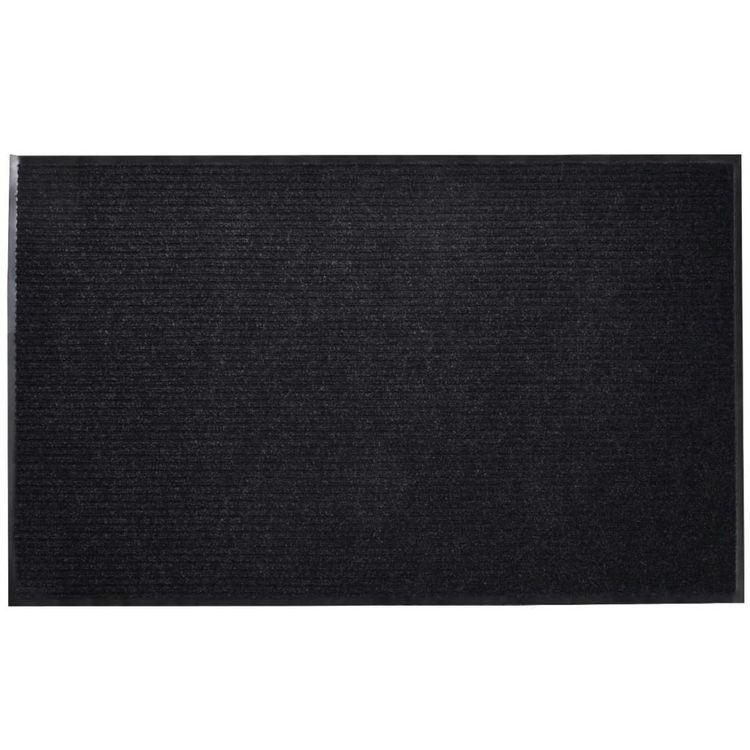 Wycieraczka pod drzwi PCV czarna 180 x 240 cm