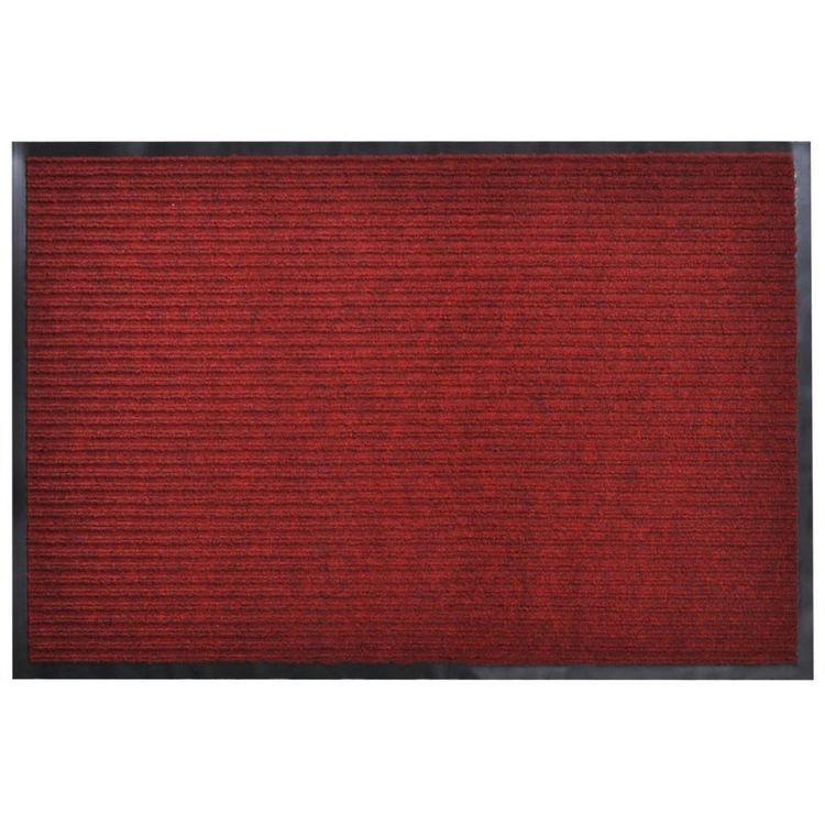 Wycieraczka pod drzwi PCV czerwona 120 x 180 cm