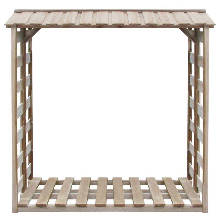 Wiata na drewno opałowe, sosna impregnowana FSC, 150x100x176 cm