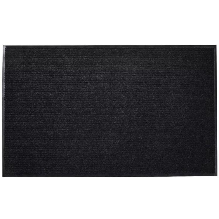 Wycieraczka przed drzwi, PCV, 90 x 150 cm, czarna