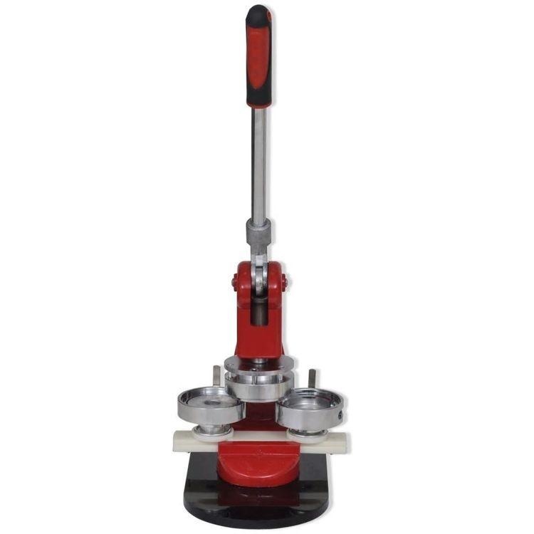 Maszynka do przypinek z formą 25 mm i wykrawakiem