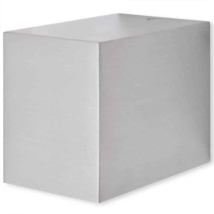 Kinkiety zewnętrzne w kształcie sześcianu, 2 szt.