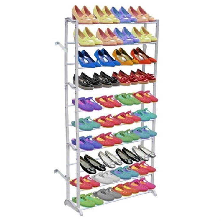 Stojak na buty z 10 półkami