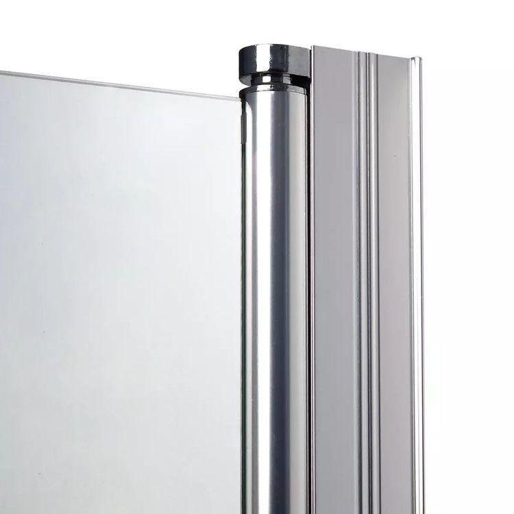 Drzwi do wnęki prysznicowej, szkło, 80 cm