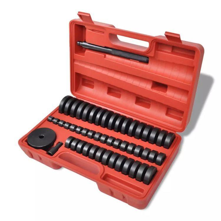 Tuleje łożyskowe, zestaw naprawczy Master  51 części (18 – 65 mm)