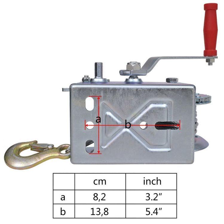 Wciągarka ręczna, 1134 kg