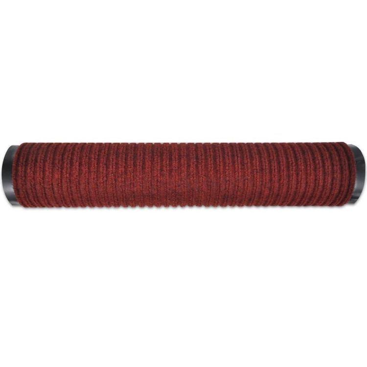 Wycieraczka pod drzwi PCV czerwona 90 x 120 cm