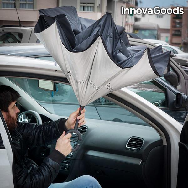 Parasol z Odwrotnym Zamknięciem InnovaGoods