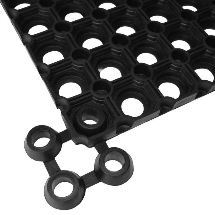 Łączenia wycieraczek 20 szt. gumowe, czarne