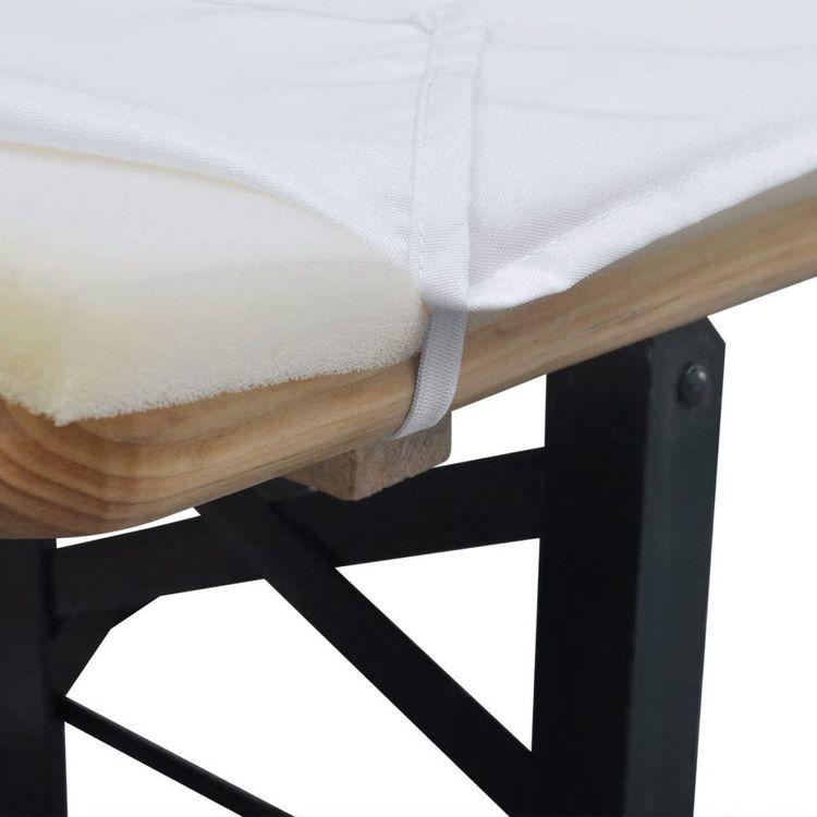 Pokrowiec na stół i 2 miękkie pokrowce na ławki 240 x 90 cm