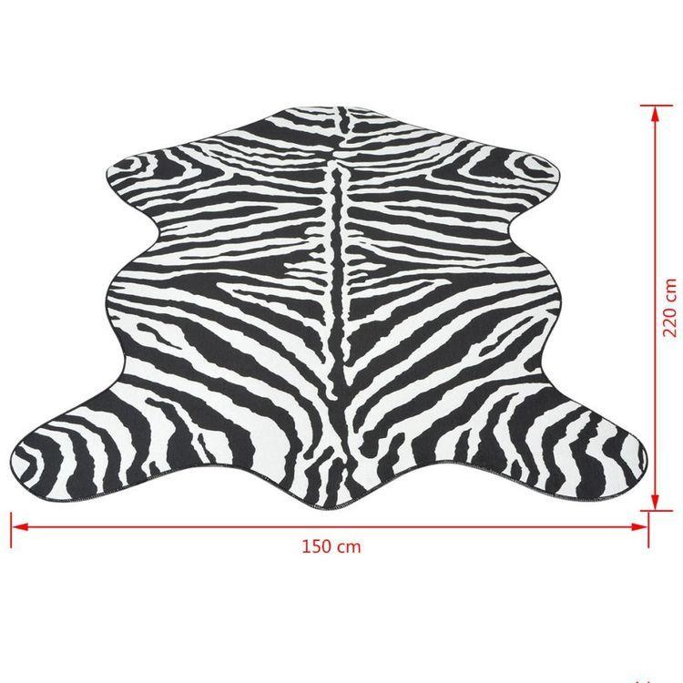 Dywanik 150x220 cm zebra