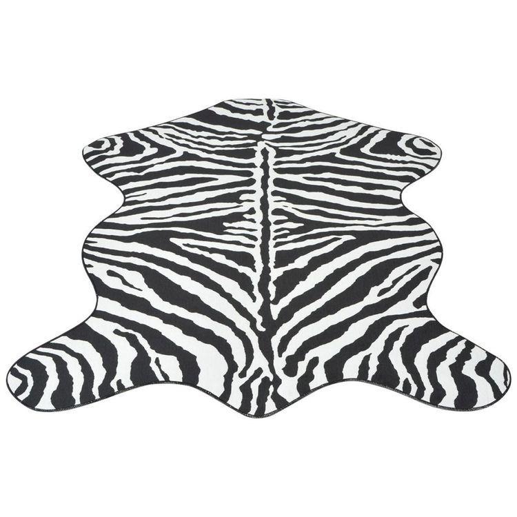 Dywanik 110x150 cm zebra