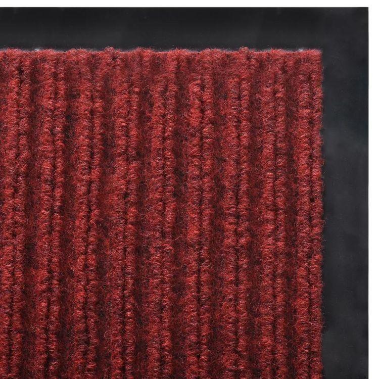 Wycieraczka pod drzwi PCV czerwona 180 x 240 cm