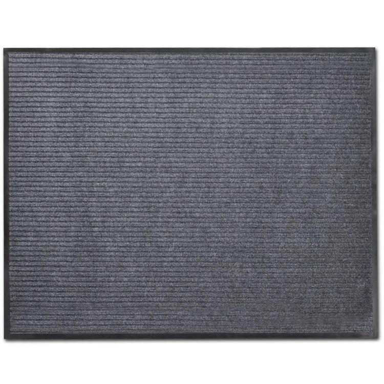 Wycieraczka przed drzwi, PCV, 120 x 180 cm, szara